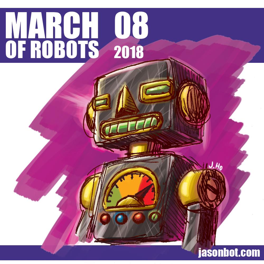 March of Robots 2018 08 by jasonhohoho