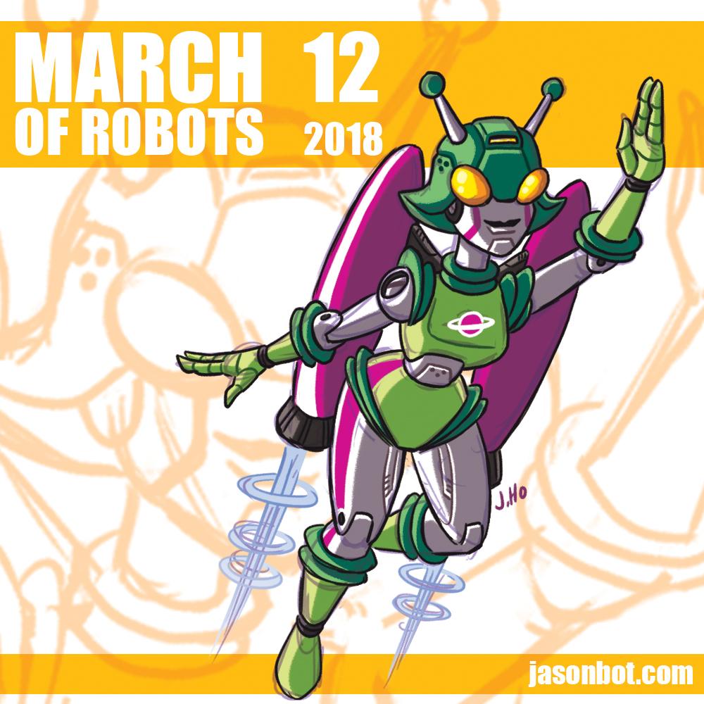 March of Robots 2018 12 by jasonhohoho