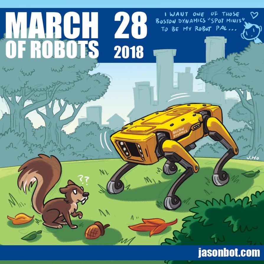 March of Robots 2018 28 by jasonhohoho