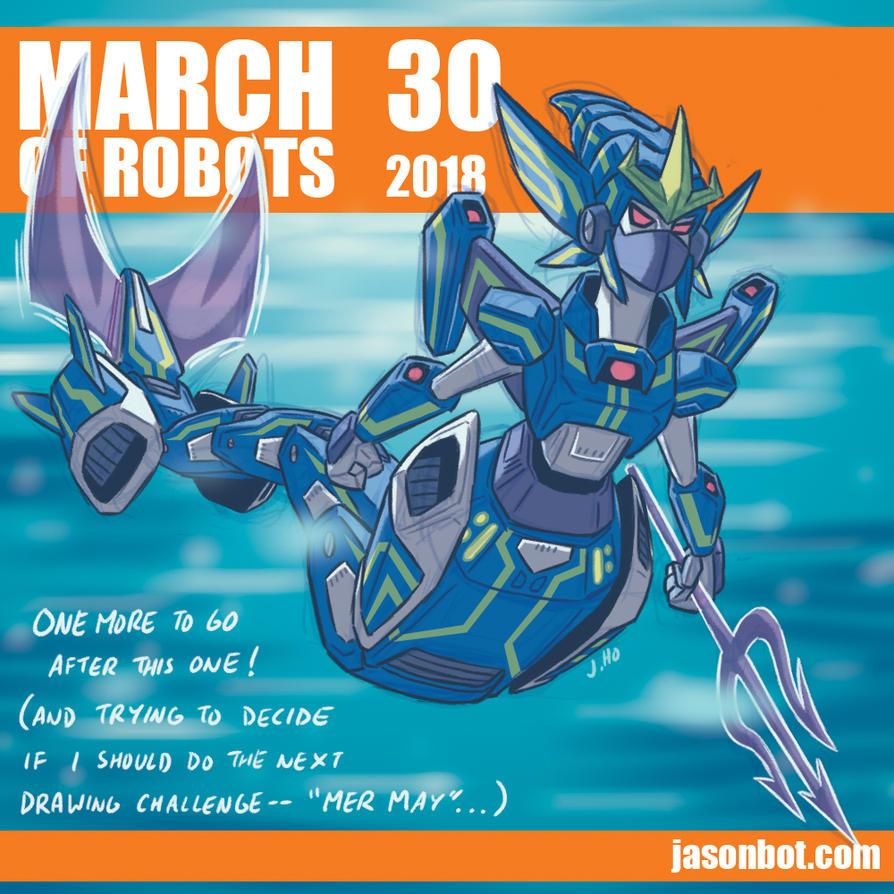 March of Robots 2018 30 by jasonhohoho