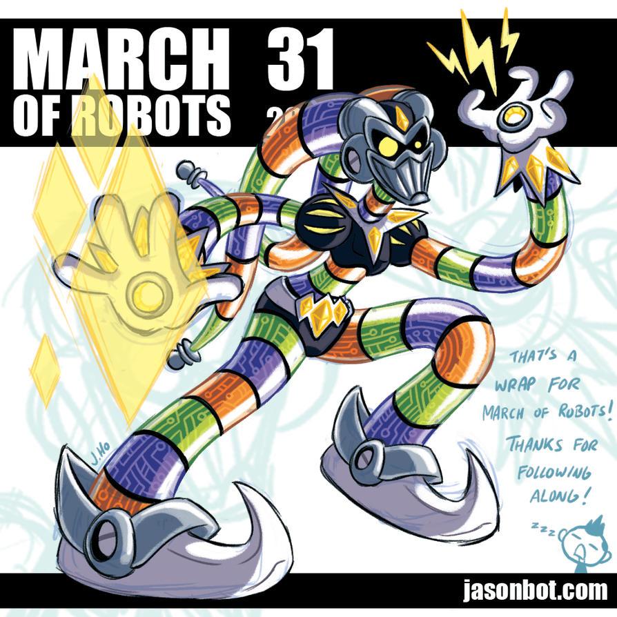 March of Robots 2018 31 by jasonhohoho