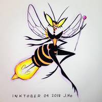 Inktober 04 2018 by jasonhohoho