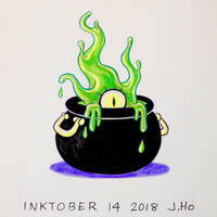 Inktober 14 2018 by jasonhohoho