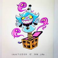 Inktober 15 2018 by jasonhohoho