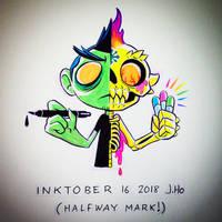 Inktober 16 2018 by jasonhohoho
