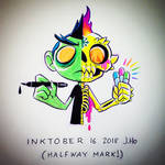 Inktober 16 2018