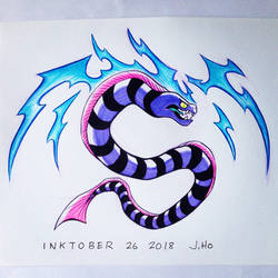 Inktober 26 2018 by jasonhohoho