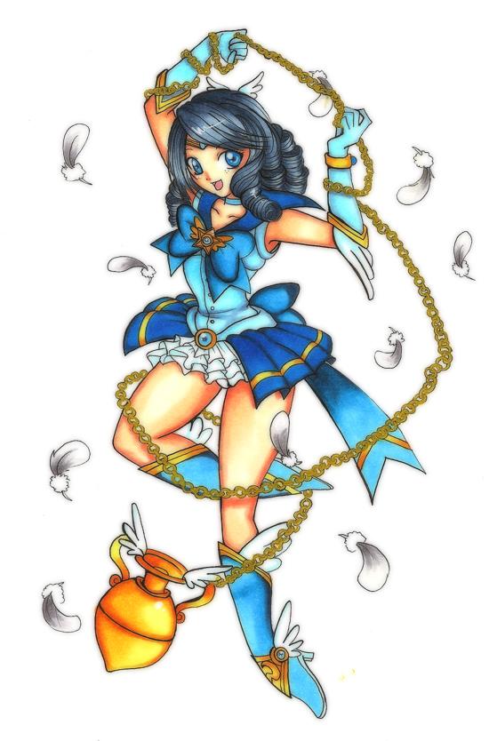 Sailor Zodiac Aquarius by shiorimaster