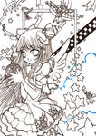 ::Glorious lineart 01::