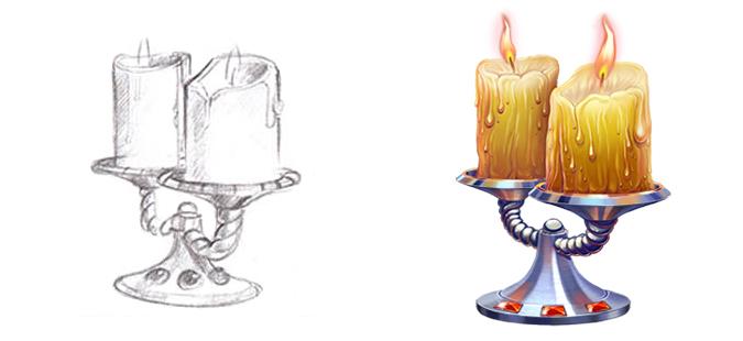 Candlestick by artforgame