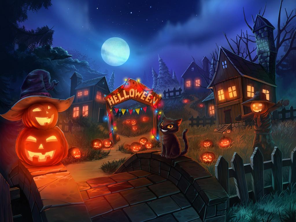 Halloween by artforgame