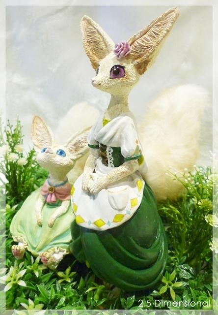 Forest Garden Fox  sisters by panda-momon