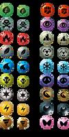 BW-Style Symbols