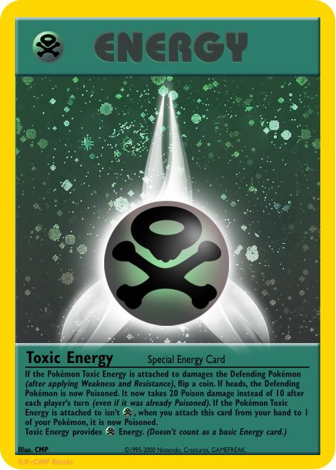 Special Poison Energy: Toxic Energy by ILKCMP on DeviantArt