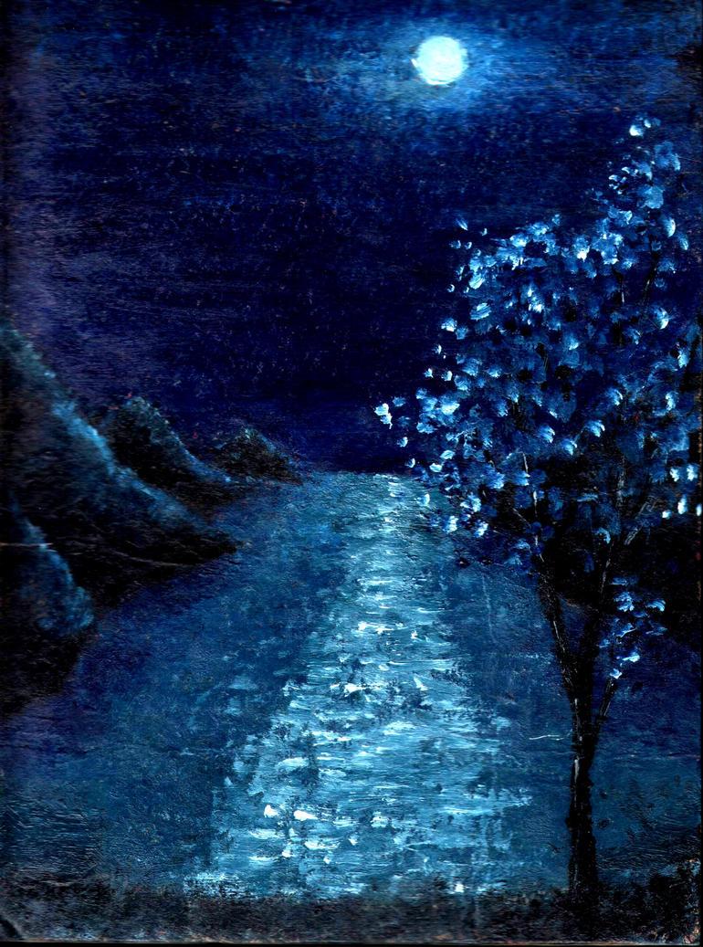 Moonlit darkness... by Lirulin-yirth
