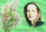 Happy birthday, Scully 2009