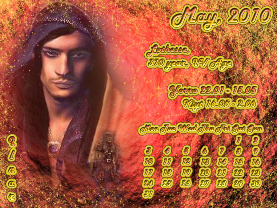 May 2010 desktop calendar by Lirulin-yirth
