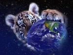 Earth in my paws by Lirulin-yirth