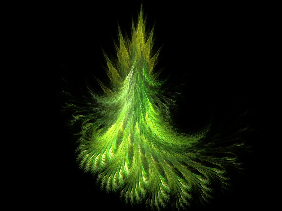 Fractal fir tree by Lirulin-yirth
