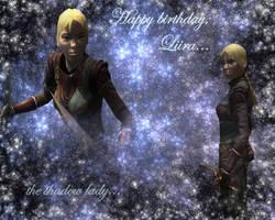Happy birthday, Liira 2011 by Lirulin-yirth
