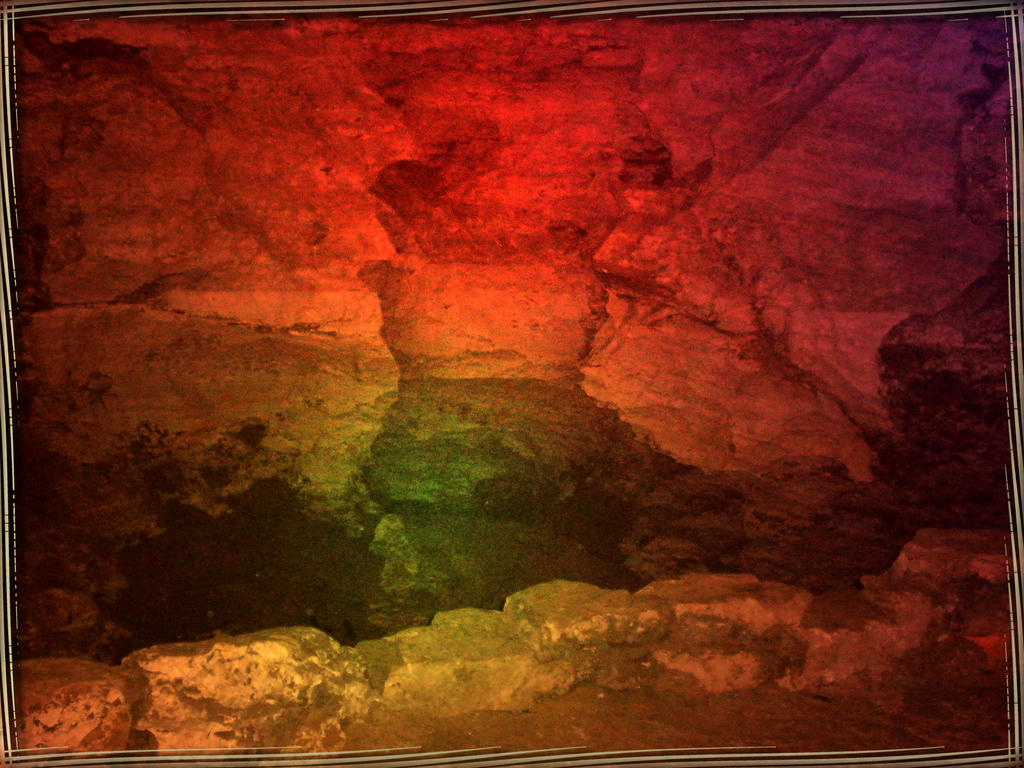 Colourful cave II by Lirulin-yirth