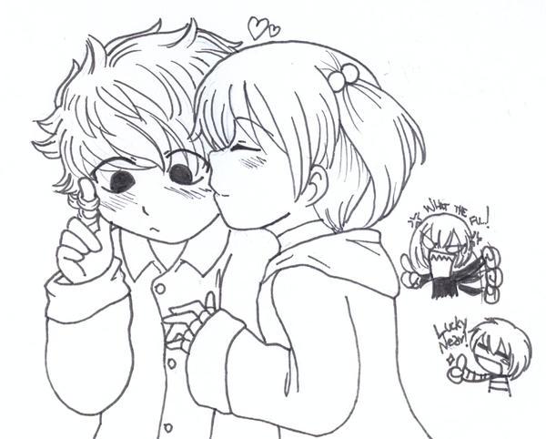 Jealousy by Terumi-KantokuJealousy Drawing