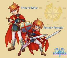 CLEAVE TOGETHER: Fencer Designs