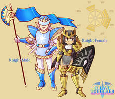 CLEAVE TOGETHER: Knight Designs