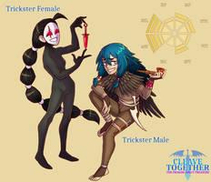 CLEAVE TOGETHER: Trickster Designs