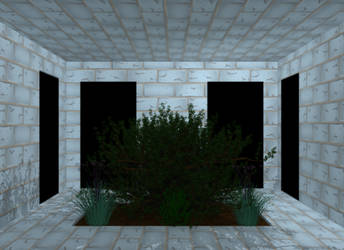 Courtyard WIP by DuelMasterP