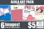 (Pokemon) Alola Art Pack #1