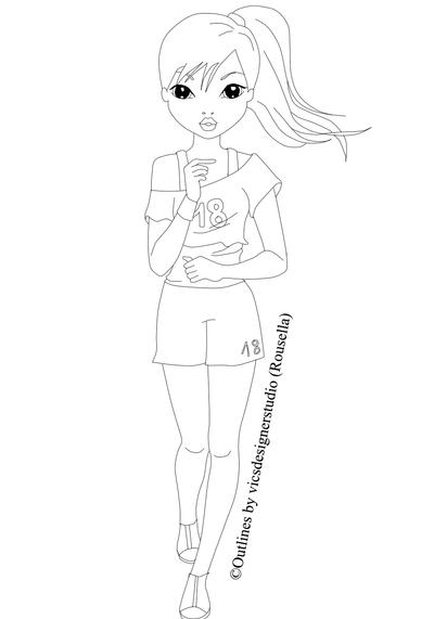 setcard top models coloring pages - photo#14