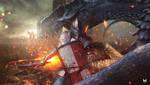 Dragon Warrior by Marcos-Muriel