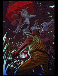 Capcom-fighting-tribute by IkeWhitehead