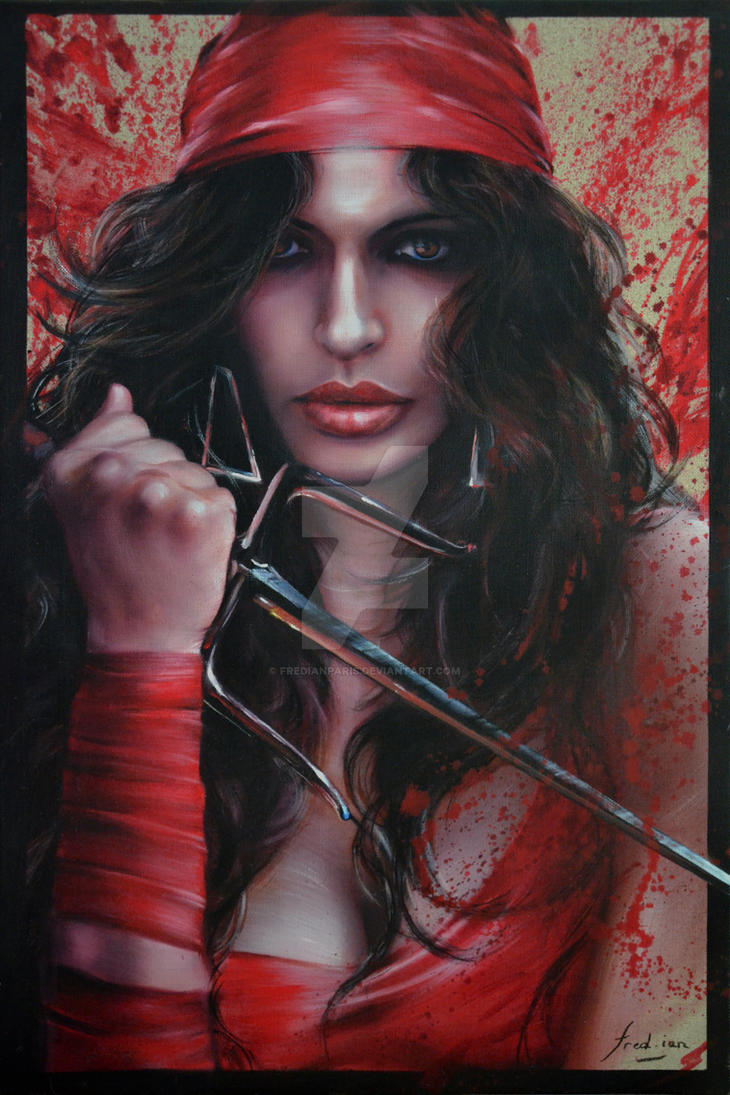 BLOODY WOMAN (ELEKTRA) by FredIanParis