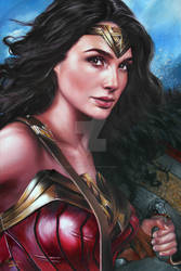 WONDER-WOMAN/GAL GADOT PORTRAIT