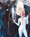 MARVEL UNBOUND BASE CARD # 6 - CLOAK AND DAGGER by fredianofficial