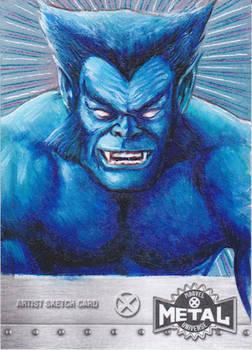 UPPER DECK X-MEN METAL SKETCH CARD - BEAST