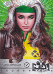 MARVEL X-MEN METAL AP SKETCH CARD - ROGUE