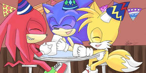Sonic's 27th Birthday - Part 1 by sarahlouiseghost