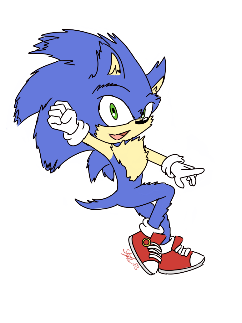 Sonic Movie 2019 By Sarahlouiseghost On Deviantart
