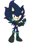 Cyclone the Hedgehog! by sarahlouiseghost