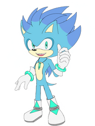 Dr. Matthew The Hedgehog by sarahlouiseghost