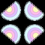 Kawaii Rainbow Design