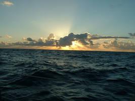 Ocean sunrise strwberrystk by strwberrystk