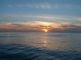 Ocean sunset strwberrystk by strwberrystk