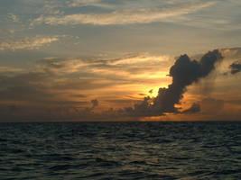 ocean sunset 3 strwberrystk by strwberrystk