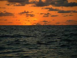 ocean sunset 4 strwberrystk by strwberrystk