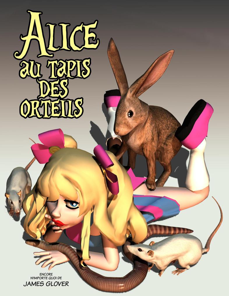 Alice au tapis des orteils by jamesglover