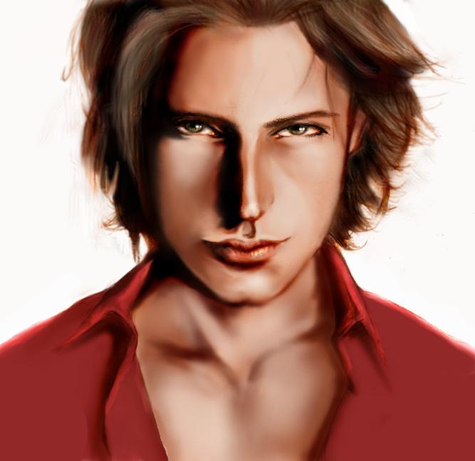 Male Portrait by Buschtrottel
